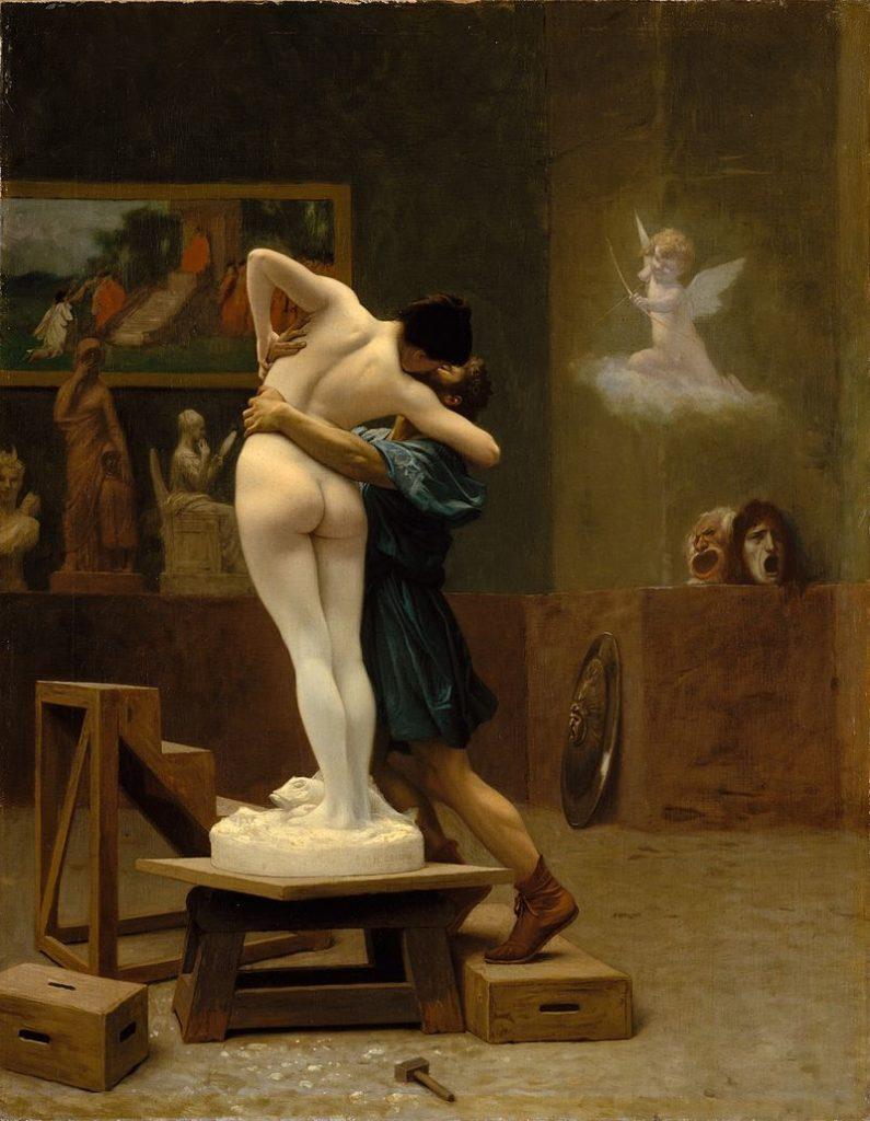 Pygmalion et Galatée, Jean-Léon Gérôme, MET
