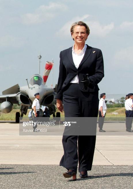 La femme politique Michèle Alliot-Marie