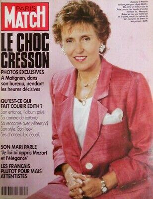 La femme politique Édith Cresson