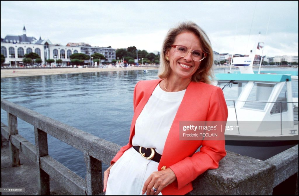 La femme poiltique Michèle Alliot-Marie
