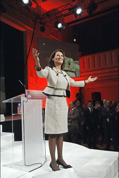 La femme politique Ségolène Royal