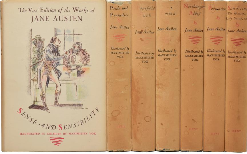 Édition originale des romans de Jane Austen