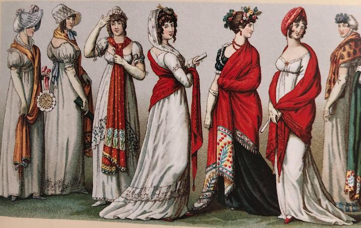 Robes empire en France