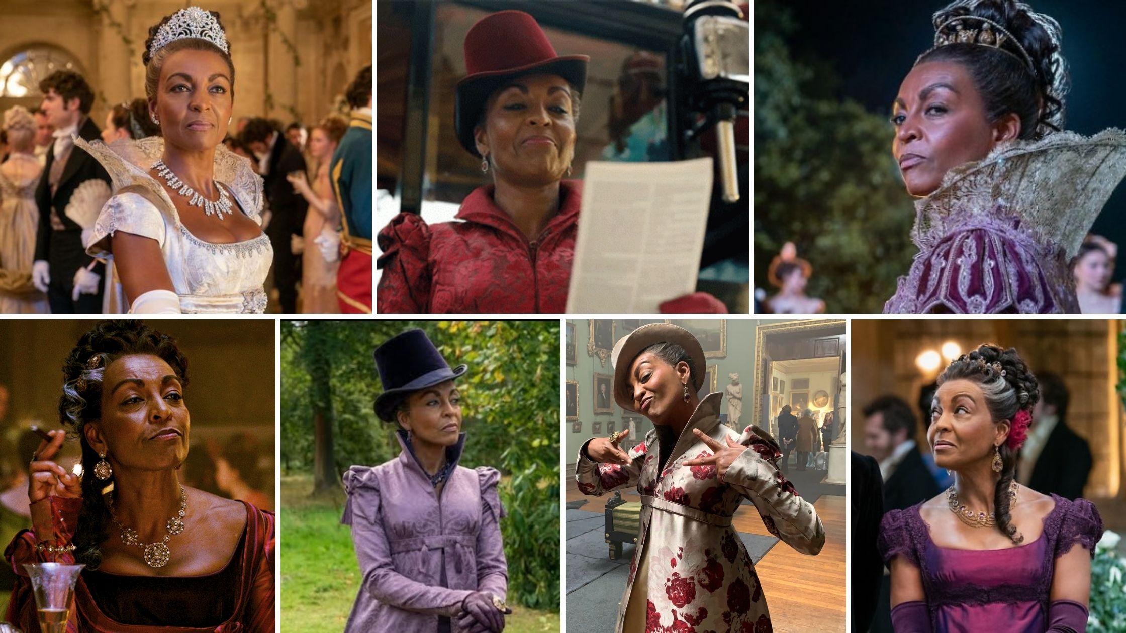 Les costumes de Lady Danbury
