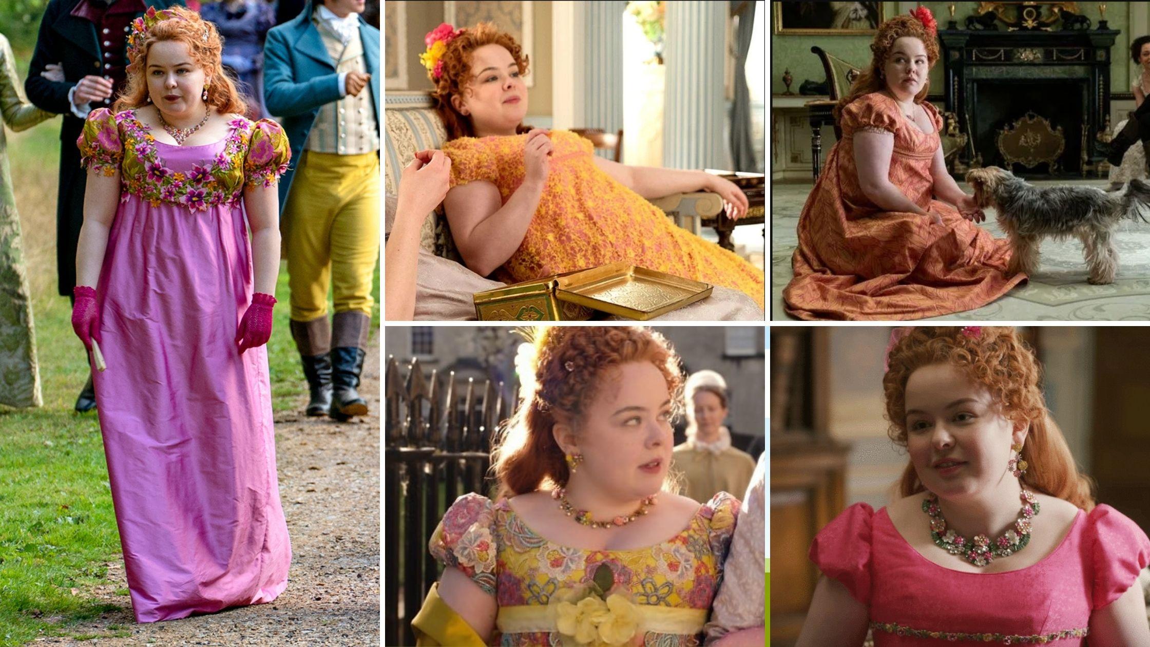 Les robes de Penelope Featherington