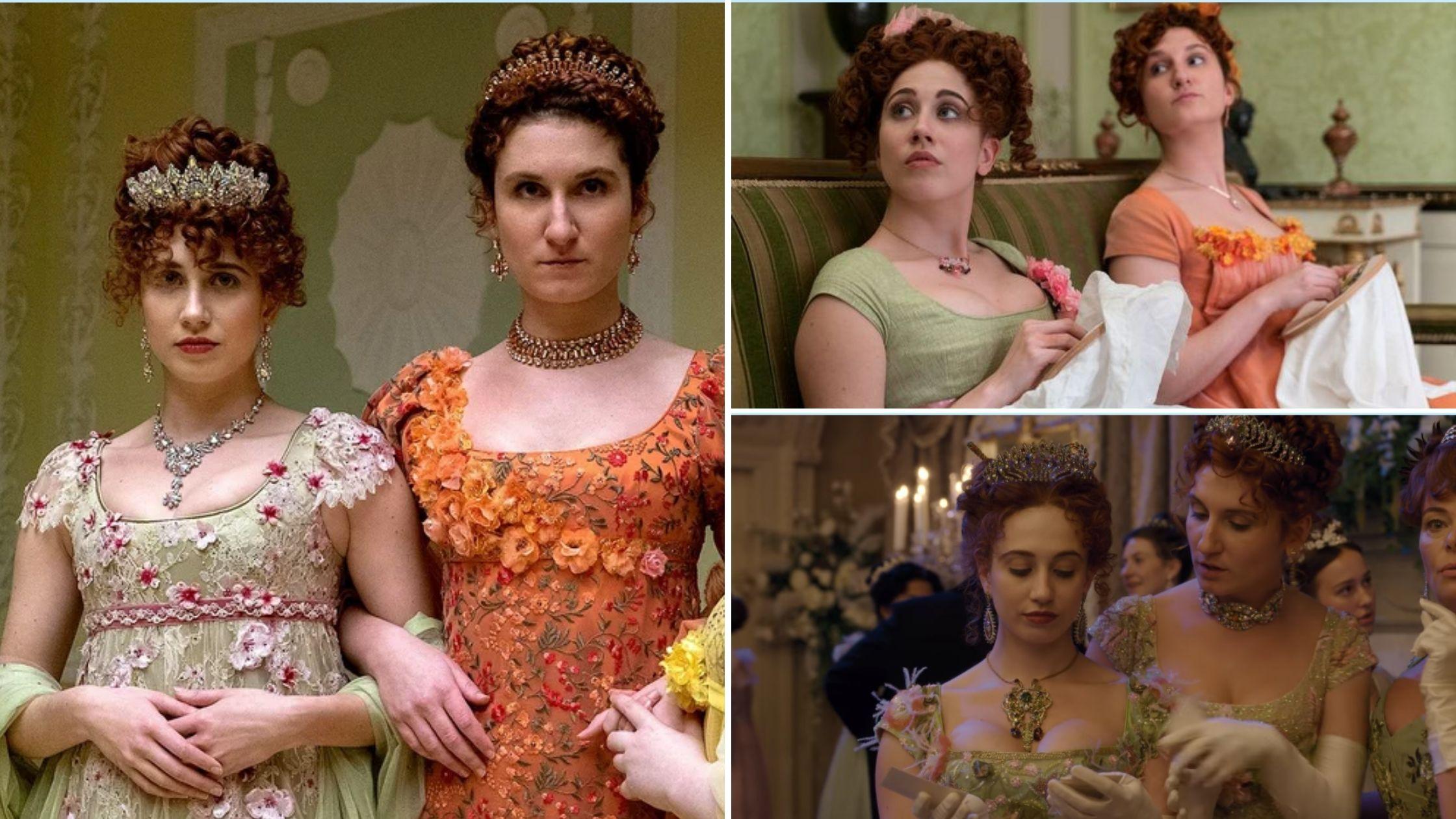 Les robes des sœurs Featherington