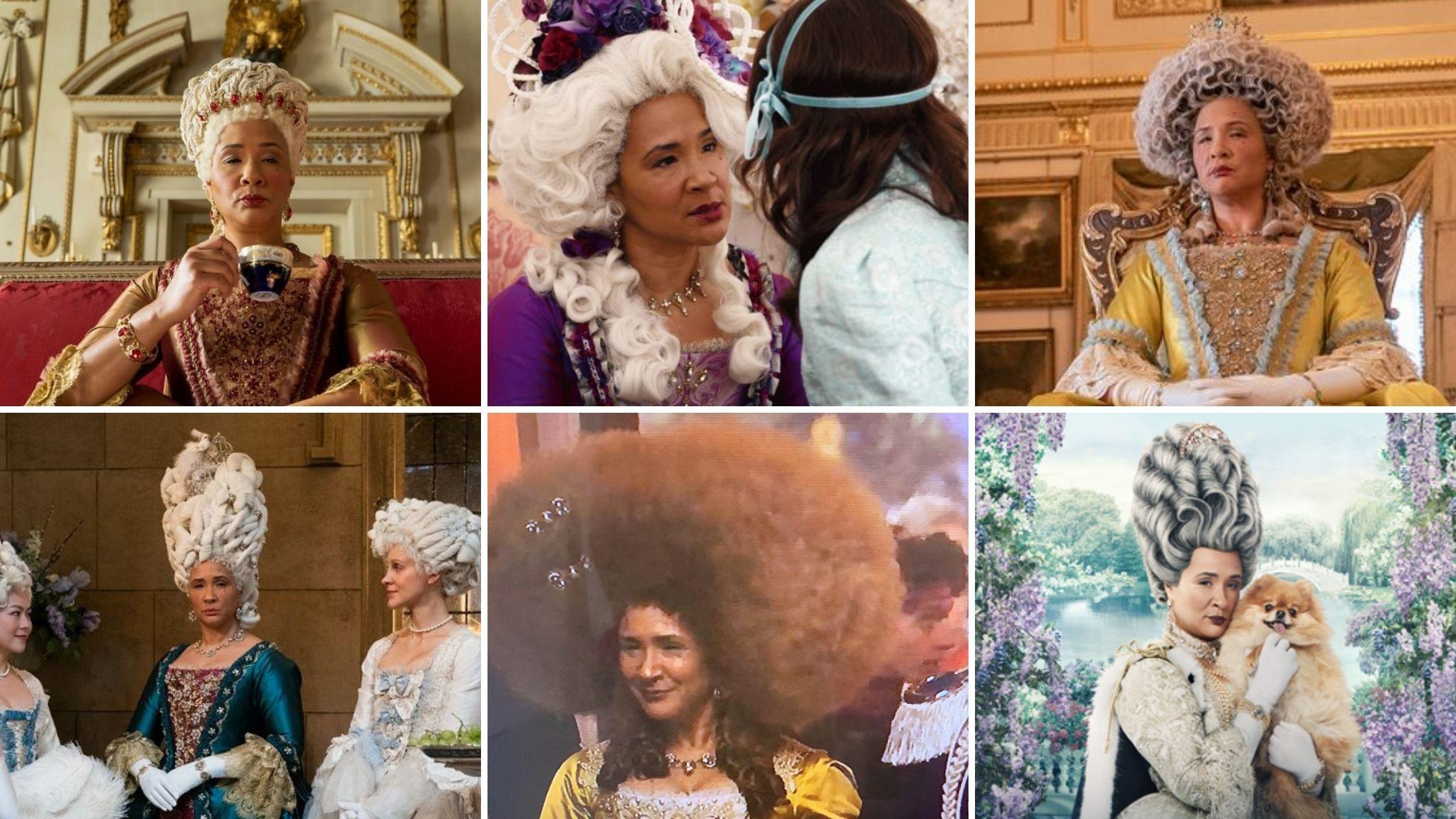 Les costumes de la Reine Charlotte