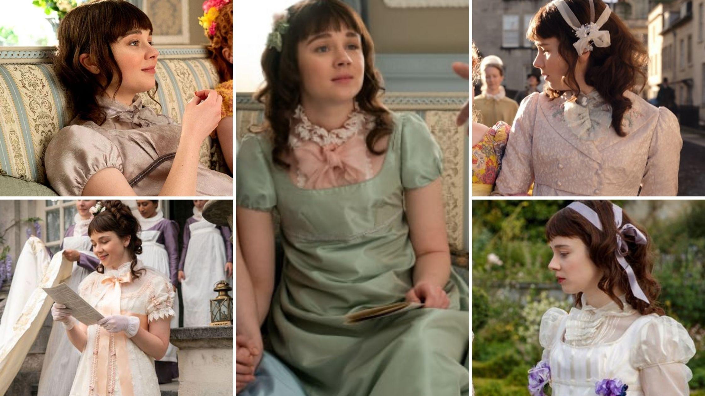 Les robes d'Eloise Bridgerton
