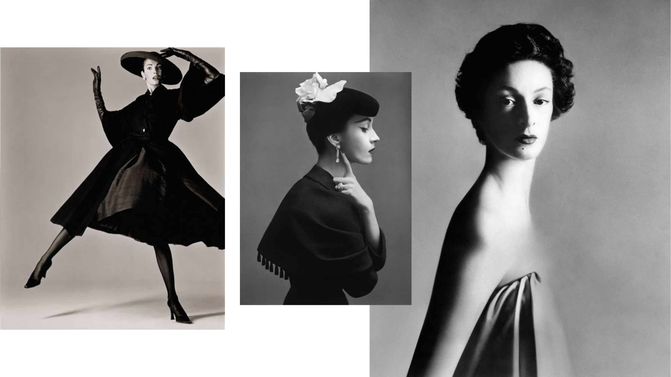 Portraits de femmes par Richard Avedon, circa 1950