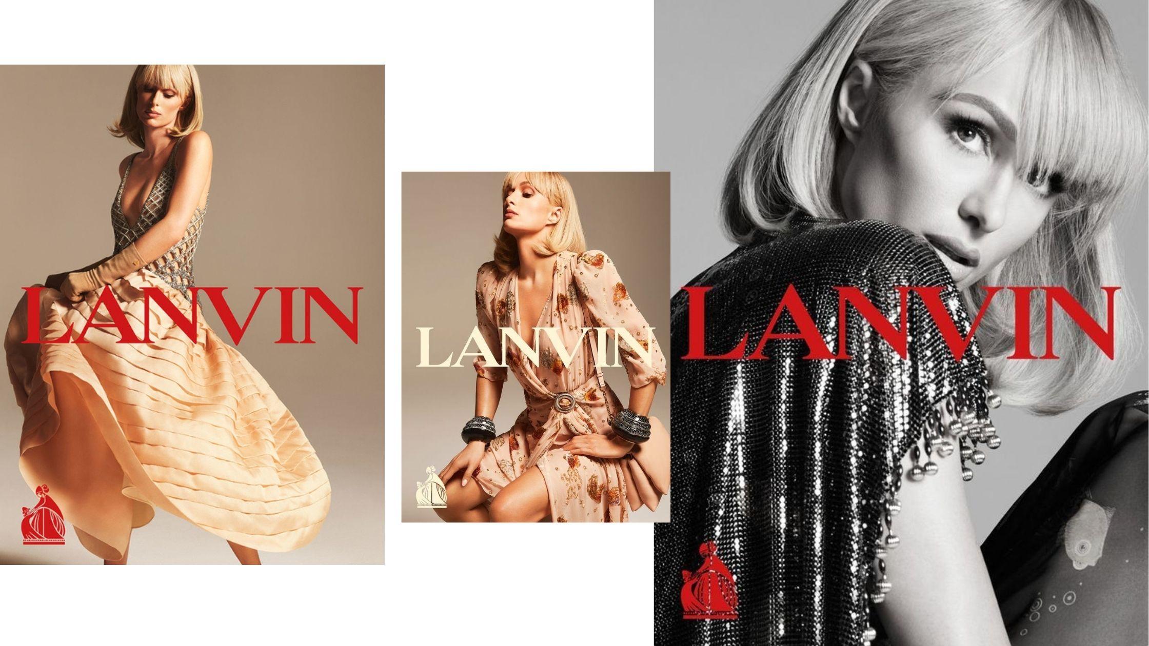 Paris Hilton pour Lanvin par Mert and Marcus (2021)