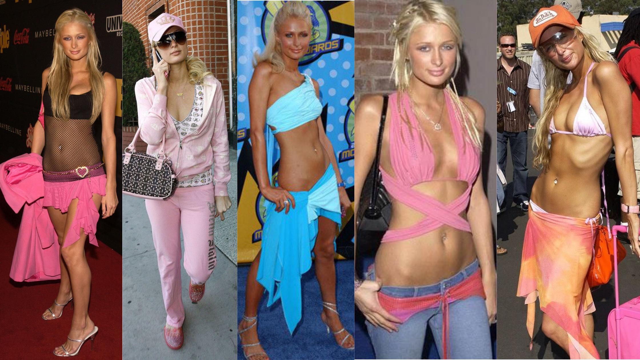 Paris Hilton années 2000