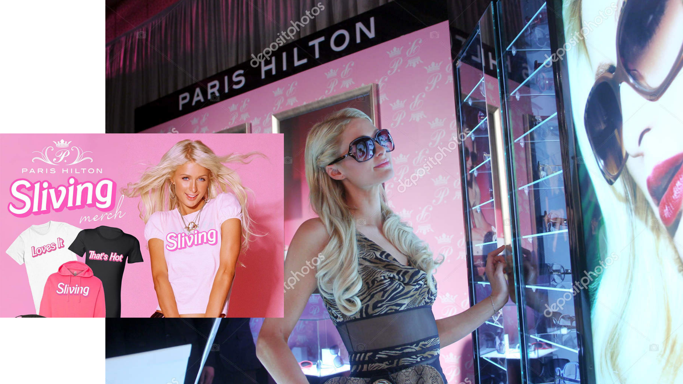 le business Paris Hilton